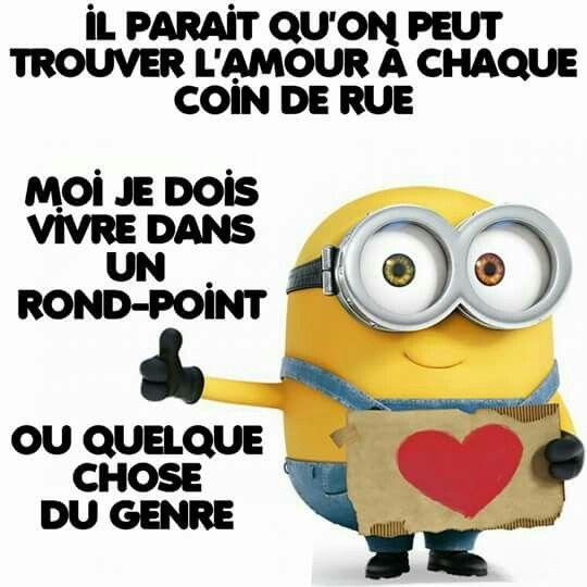 Les minions drole et mignon citation citations dr les et citation humour - Minion amoureux ...