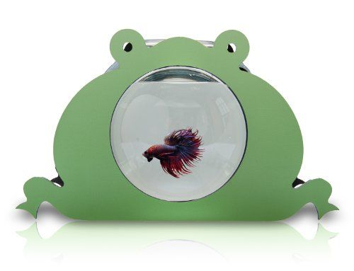 Zooquariums frog betta tank and goldfish bowl the for Fish bowl amazon