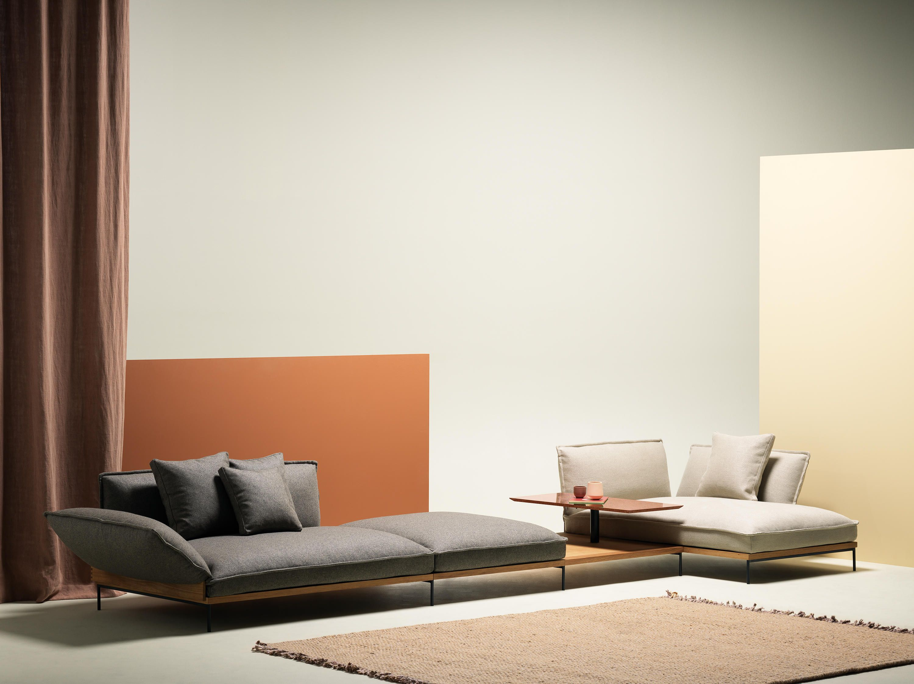 - Jord Double Chaise Lounge By Fogia Lounge Chair Design, Sofa
