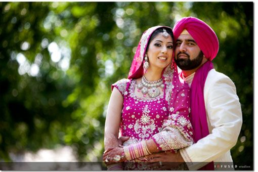 Canadian Sikh Wedding By Infused Studios