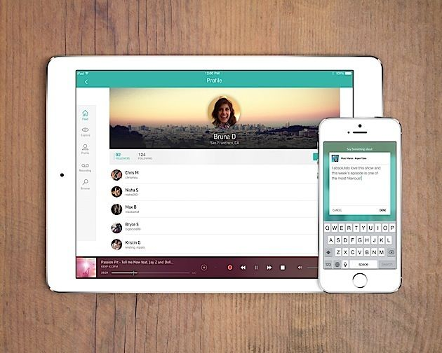 TuneIn tries reinventing itself as a social network for