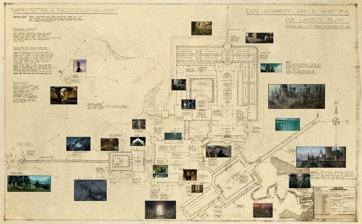 Hogwarts Castle Floor Plan