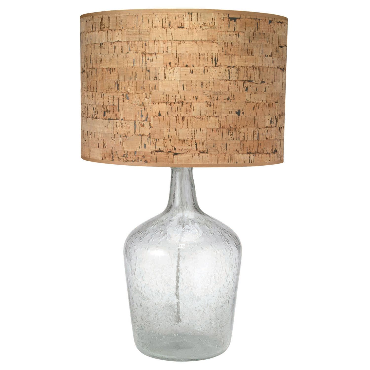 Jamie Young Plum Jar Clear Seeded Glass Table Lamp Base @Zinc_Door Love  This  Lots