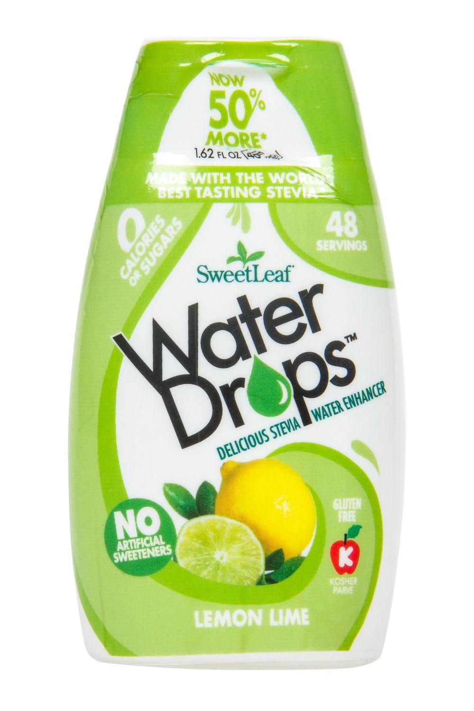 Natural Water Drops Lemon Lime 1 62 Floz Sweet Leaf Lemon Lime Water Sweetleaf Water Drops Stevia