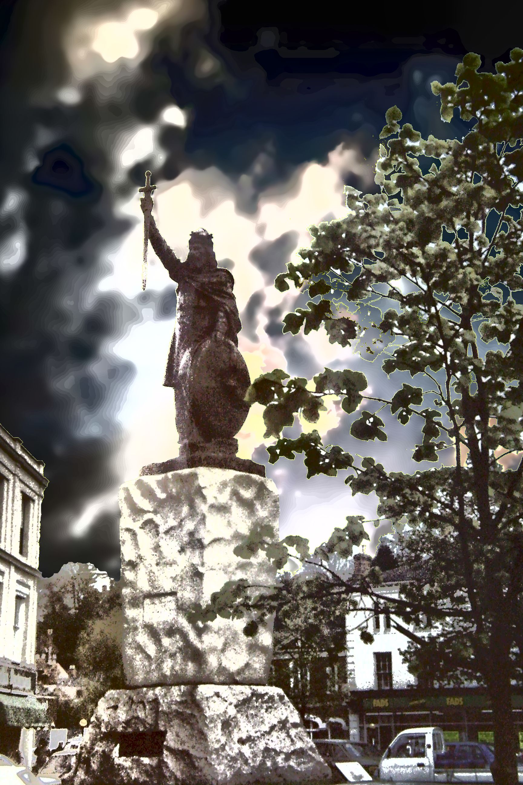 King Alfred The Great At Winchester