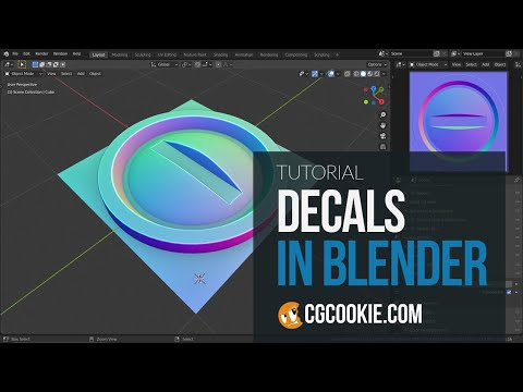 505 Workflow For Creating Normal Map Decals In Blender Youtube Blender Tutorial Map Decal Blender