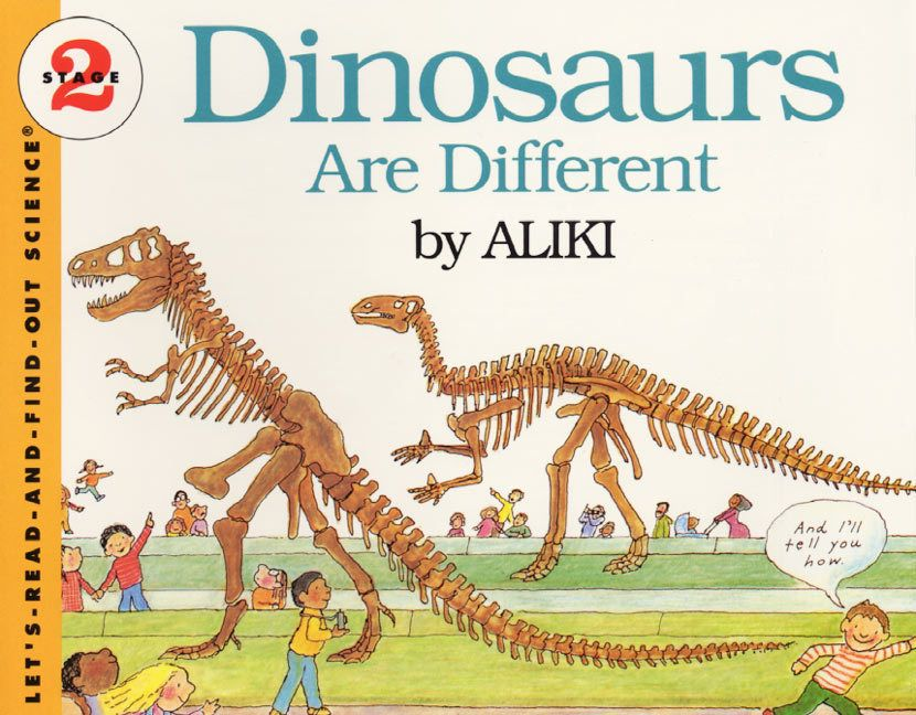 Dinosaurs are different aliki paperback science