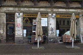 Noch Besser Leben - a fab bar in west Leipzig.  Make sure you order a 'Beton'