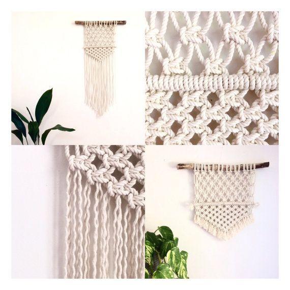 Macrame Kit Wall Hanging Diy Macrame Pattern Driftwood