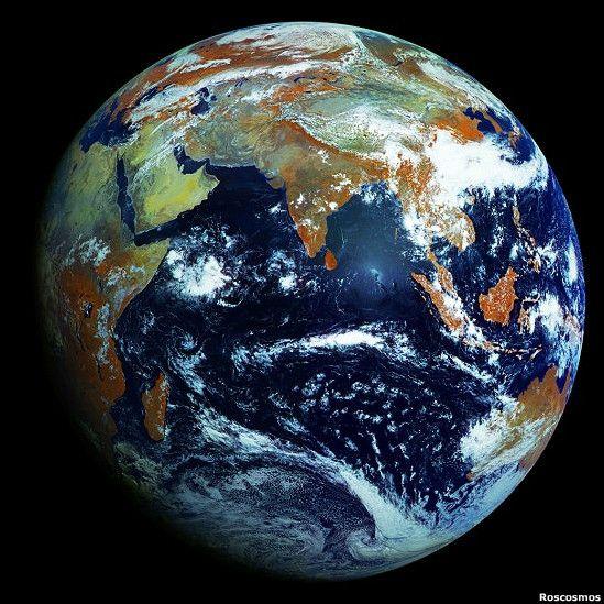 Resultado de imagen de La mejor imagen de la Tierra desde el Espacio