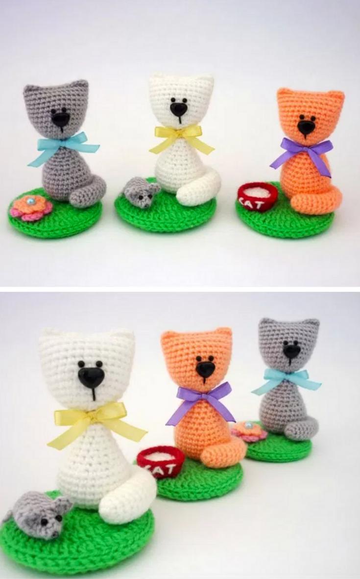 Souvenir cat amigurumi crochet pattern | Katte | Pinterest ...