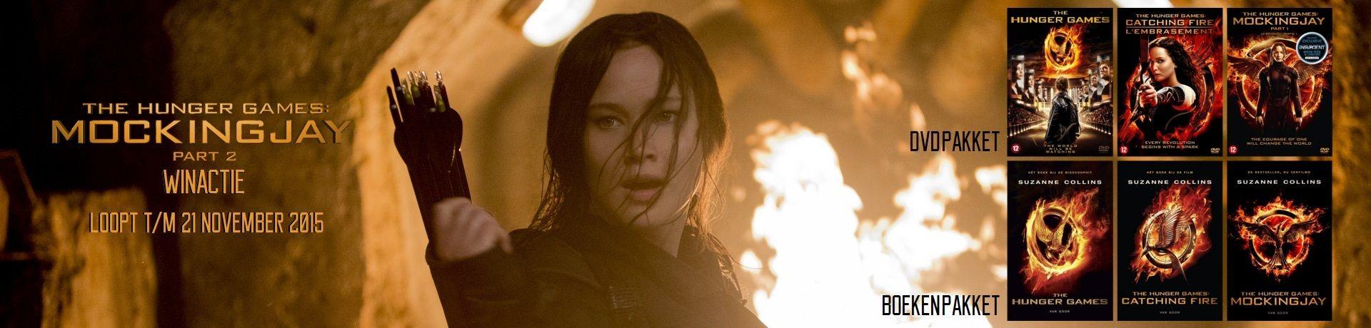 18 november is het eindelijk zover, dan breekt de grote finale aan waarin Katniss (Jennifer Lawrence) samen met Gale (Liam Hemsworth), Finnick (Sam Clafin), Peeta (Josh Hutcherson) en een eenheid van District 13, de confrontatie opzoeken met President Snow (Donald Sutherland). Katniss en haar team g