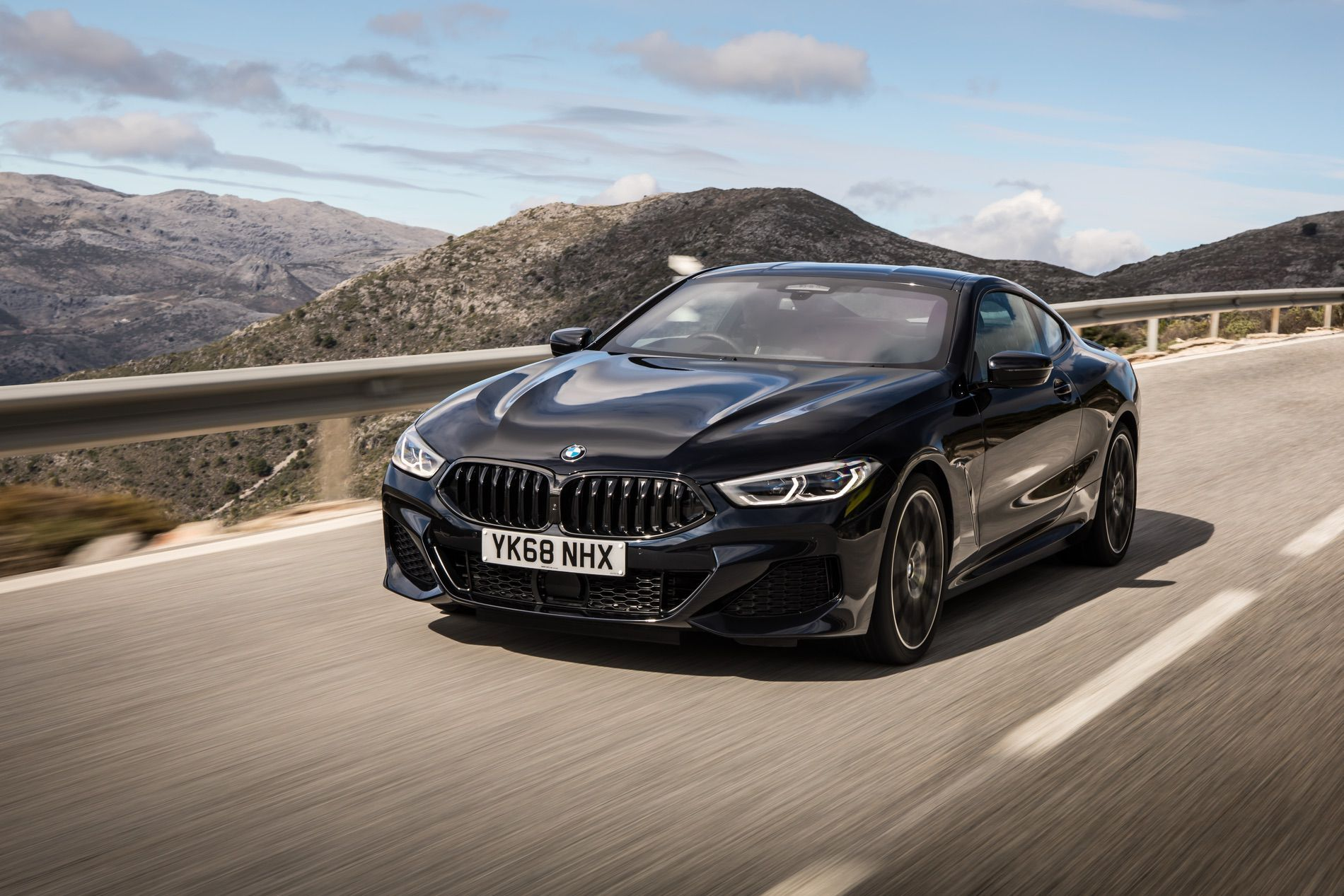 Photoshoot Bmw 840d Coupe In Black Sapphire New Bmw Black Audi
