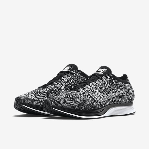 Nike Flyknit Racer Black/White: Nike has announced that it will release the  ever-popular Nike Flyknit Racer silhouette in a