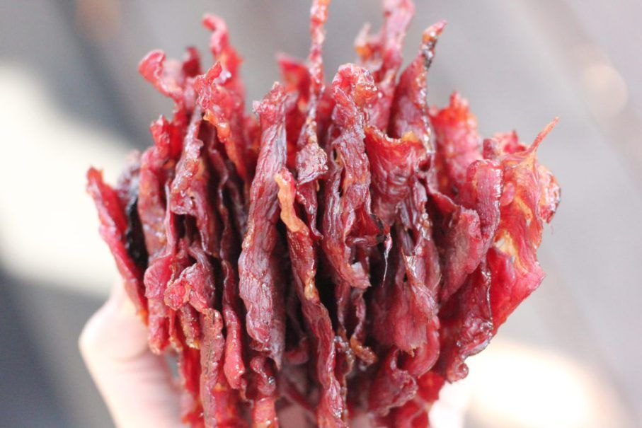 This Dr Pepper Jalapeno Beef Jerky Is Tender And Bursting With Sweet Spicy And Savory Flavors T Jerky Recipes Beef Jerky Recipes Jalapeno Beef Jerky Recipe