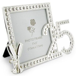 25th Wedding Anniversary Party Gift Source A1giftscouk