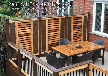 Home Trex Deck Design Ideas, Pictures, Remodel And Decor