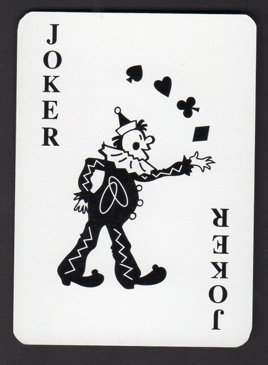 Vintage Wide Swap Playing Card Joker Aud 1 50 Picclick Au Joker Playing Card Unique Playing Cards Joker Card