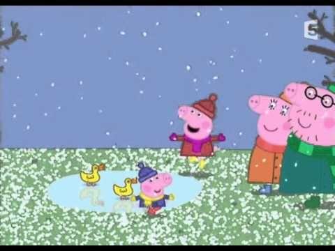 Peppa pig fran ais une froide journ e d 39 hiver playlist - Peppa pig francais noel ...