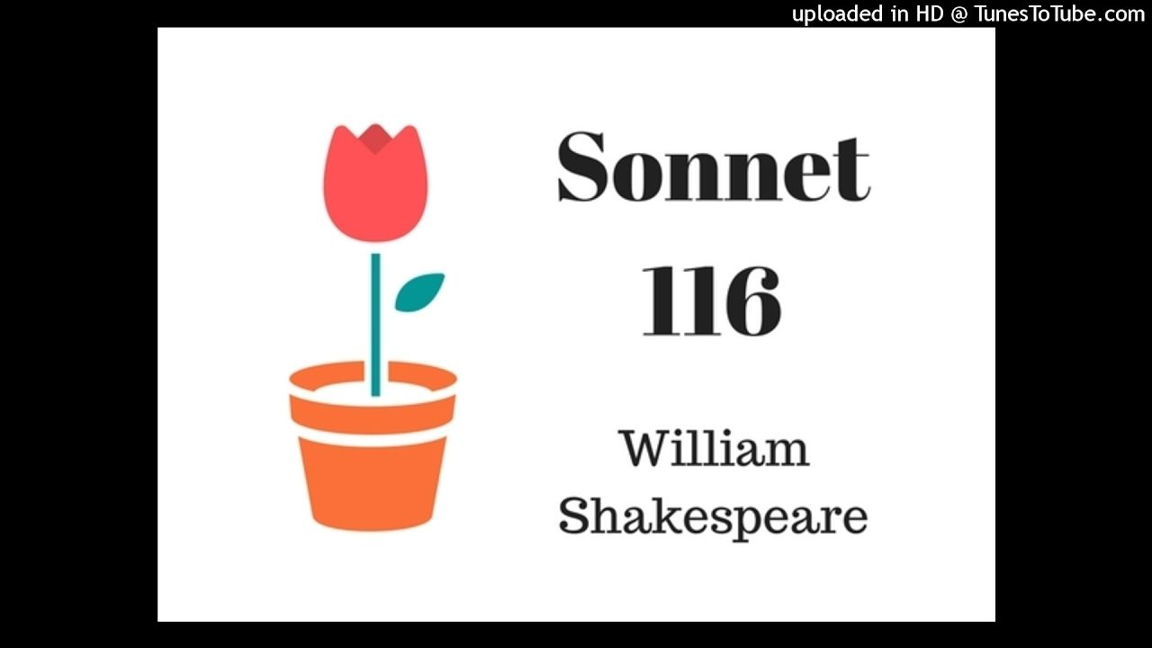 Let Me Not To The Marriage Of True Minds Sonnet 116 William