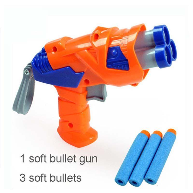 Paintball Gun Pistol & Soft Nerf Bullet Gun Shooting Water Crystal Gun New  Model toy guns