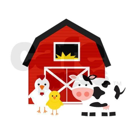 cartoon farm barn shower curtain for the farm pinterest