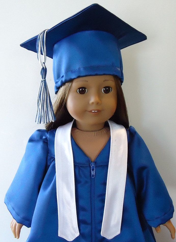 graduation gown pattern for american girl doll like this item