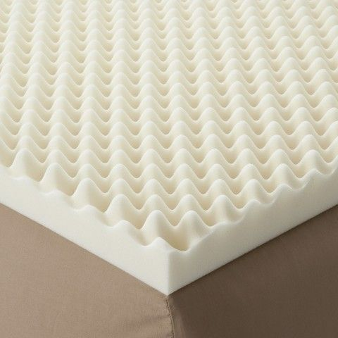 "Enhance Highloft 3"" Memory Foam Topper - White"