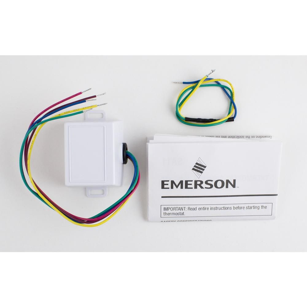 Emerson Thermostat Common Wire Kit For Sensi Wi Fi Thermostats Wiring Harness