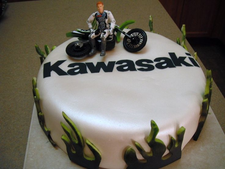 motor bike cakes Google Search Guys cake inspiration