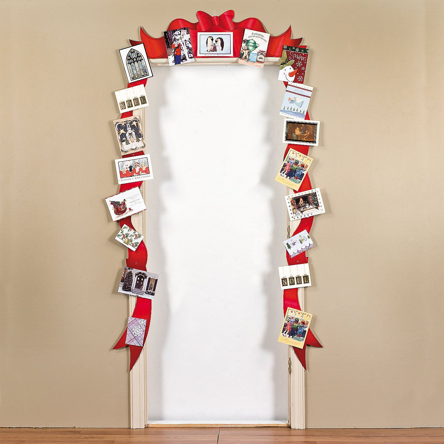 Christmas Card Holder Door Border - OrientalTrading.com | Christmas ...