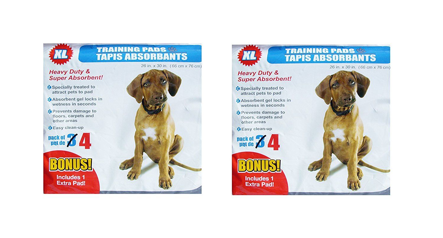 Extra Large Puppy Dog Training Pads 4 Heavy Duty And Super