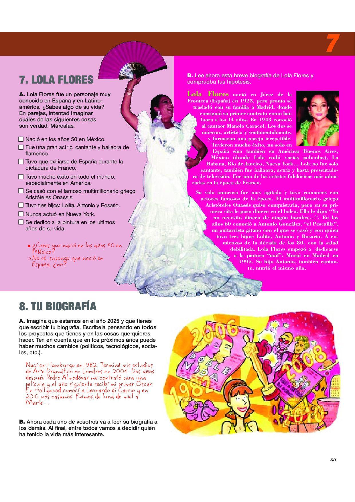 Biografia De Lola Flores