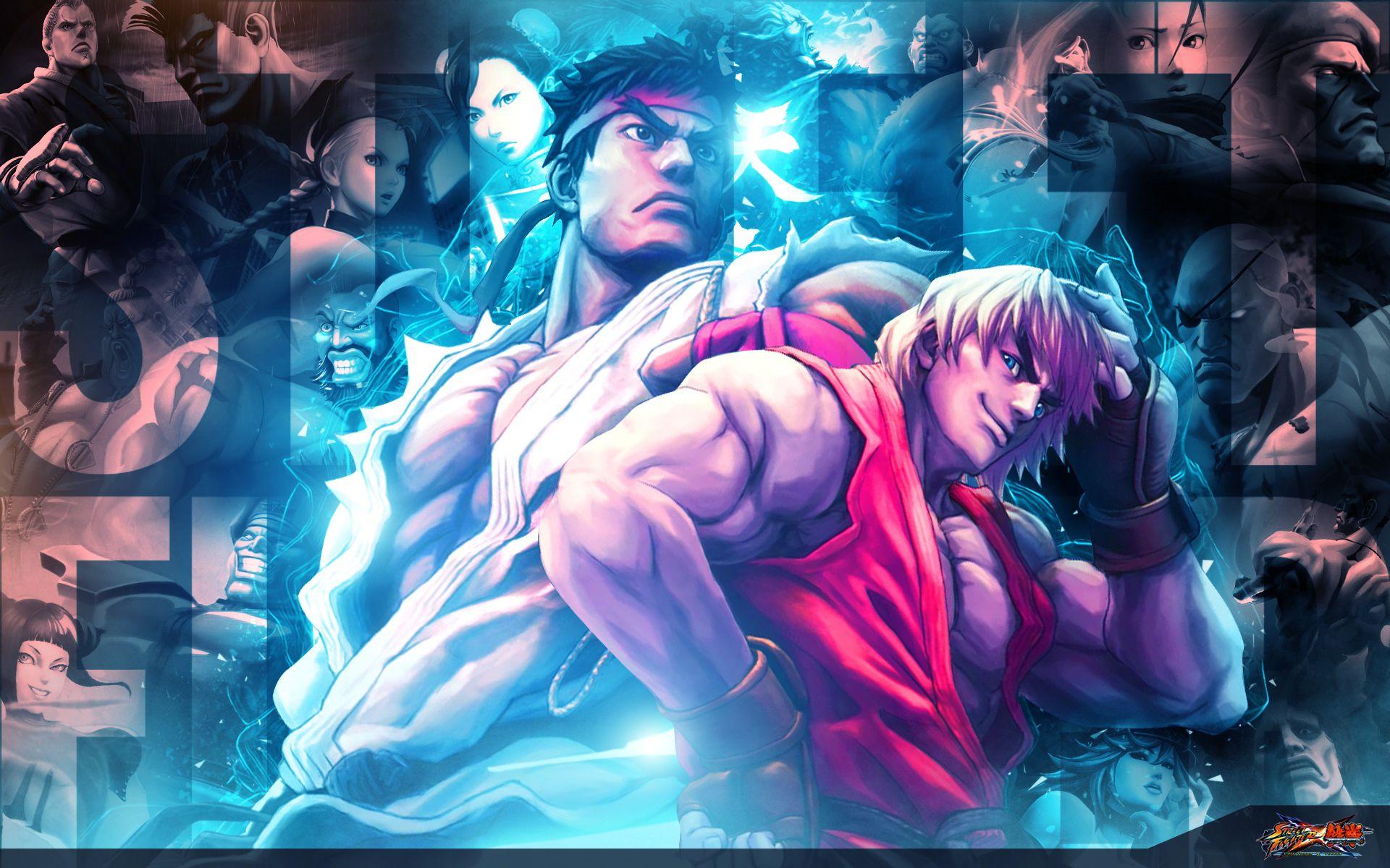 Street Fighter X Tekken Com Imagens Personagens De Videogame