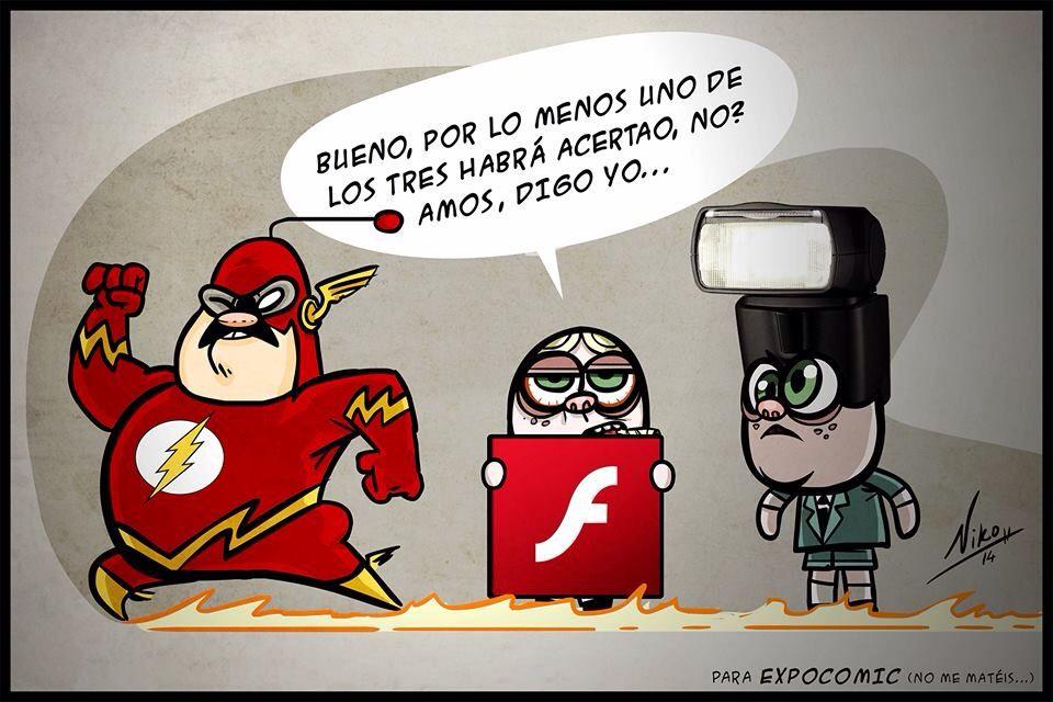 Concurso disfraz d Flash