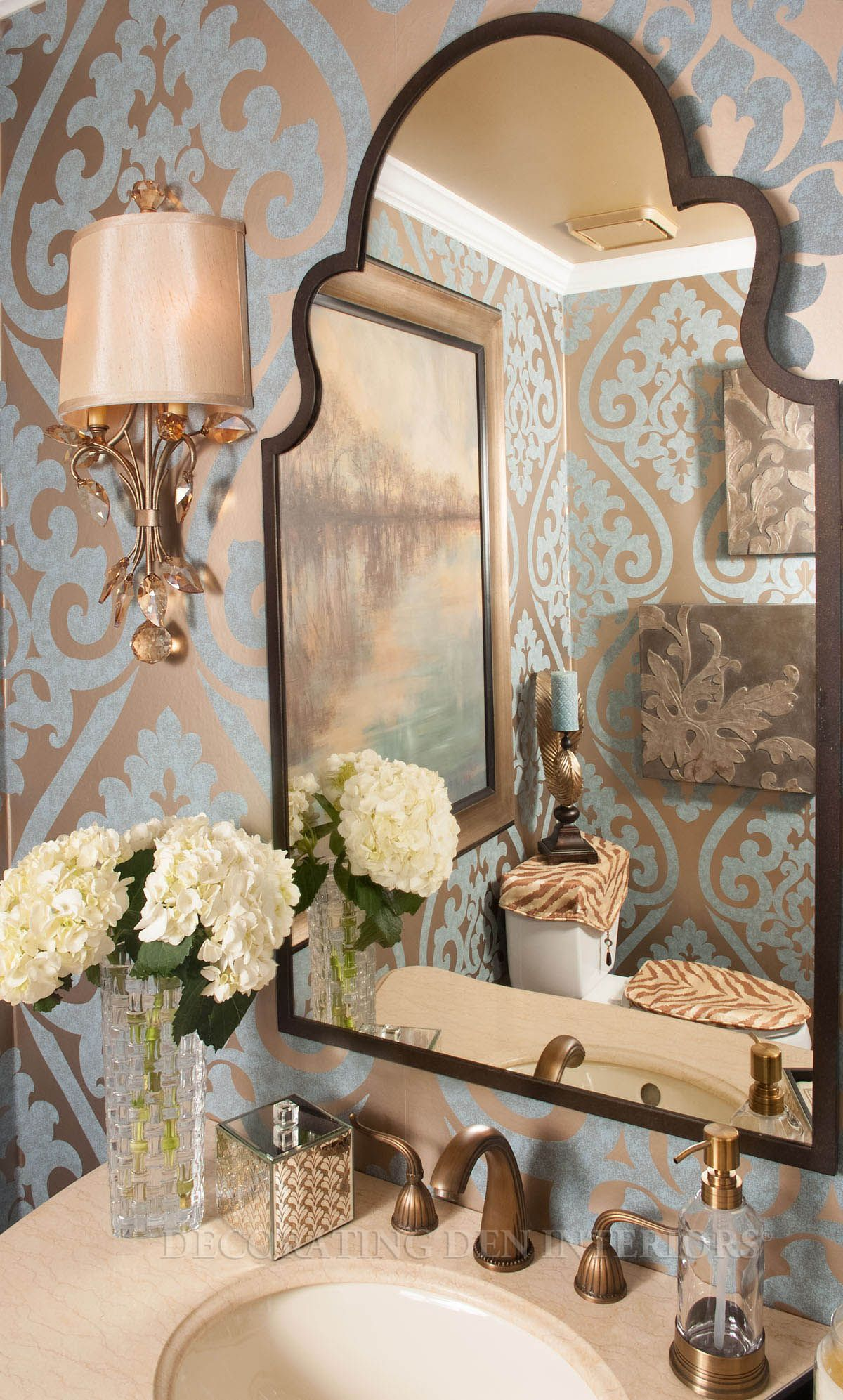 Bathroom Designs By Decorating Den Interiors. Want This Look? Call The  Landry Team To