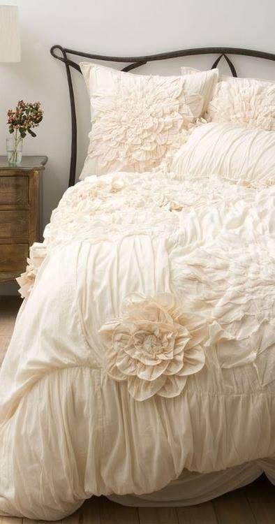 Pin by Tiffany Slate on HOME   Bedroom decor, Ruffle duvet ...