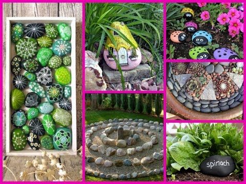 Diy Garden Decoration Ideas With Rocks And Stones Gardendecor