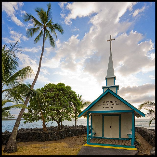 St. Peters Church, Kona, Hawaii