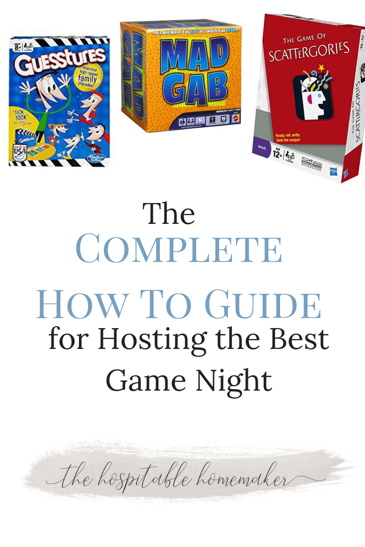 Complete how to guide for planning an awesome game night bloggers interested in hosting a game night for a group of friends or neighbors but not sure fandeluxe Gallery