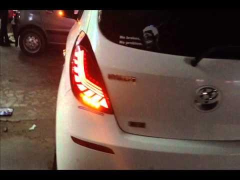 New I20 Concept Led Tail Lights Led Tail Lights Tail Light Car