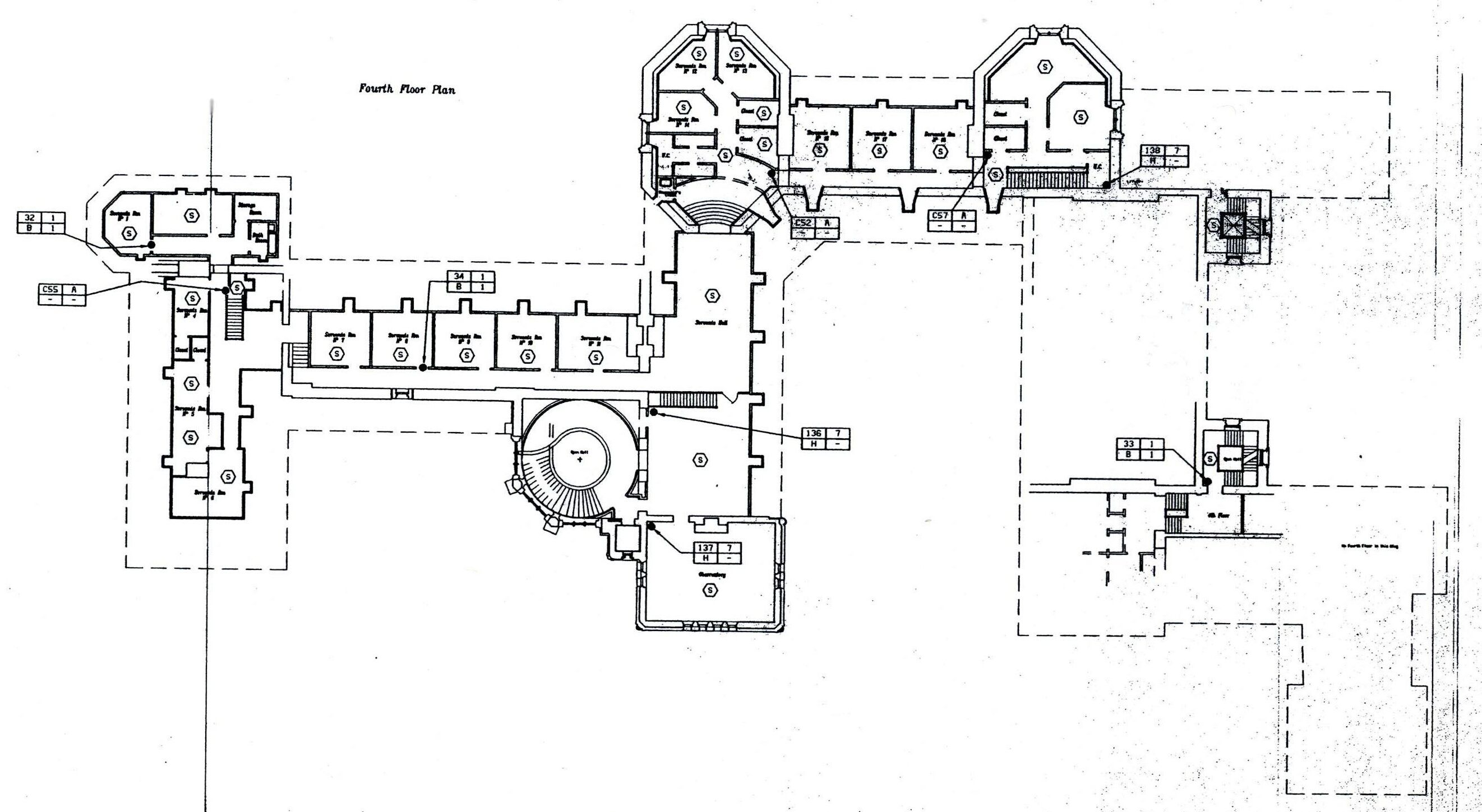 Biltmore house 4th floor floorplan biltmore estate 4th for Biltmore estate floor plan