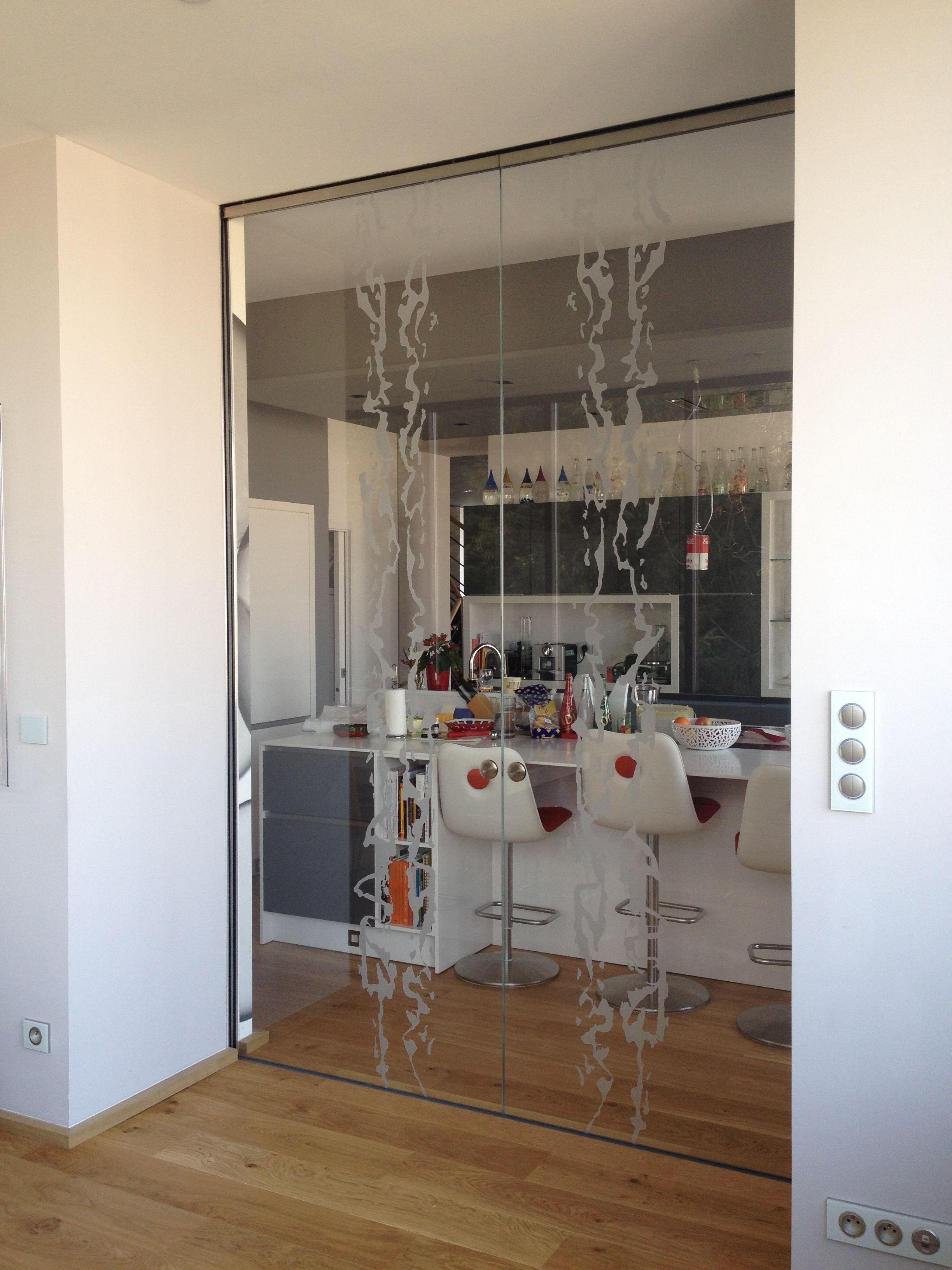 France, Frammenti pattern #glassdoor #portainvetro # ...
