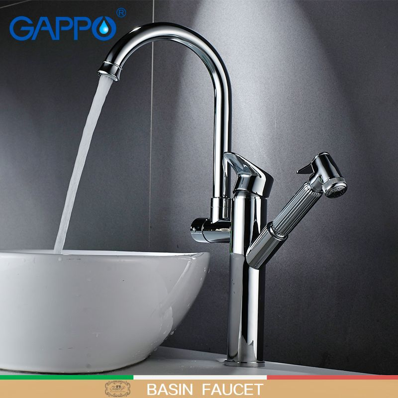 Gappo Kitchen Faucets Kitchen Water Sink Mixer Tap Kitchen Pull Out