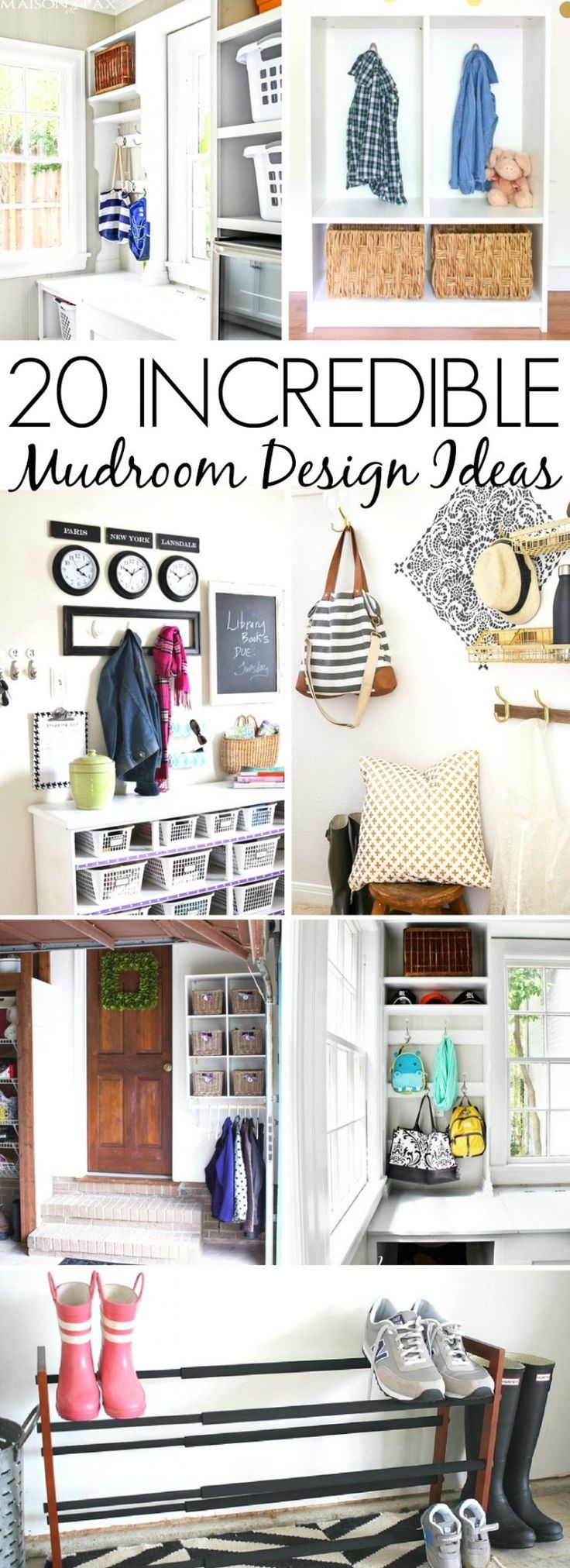 these 20 incredible mudroom design ideas will inspire you on inspiring diy garage storage design ideas on a budget to maximize your garage id=93765