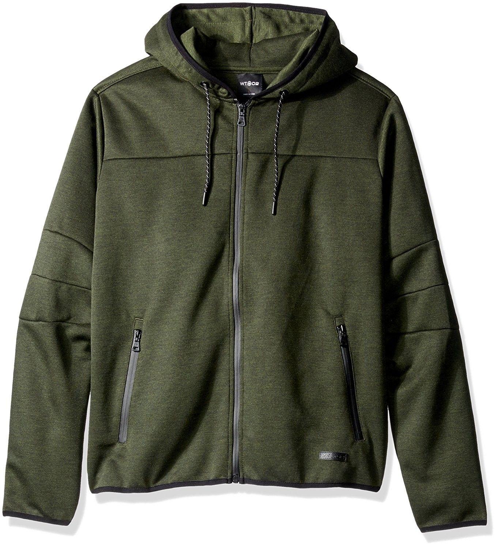 Men's Basic Tech Fleece Hoodeed Full Zip With Waterproof