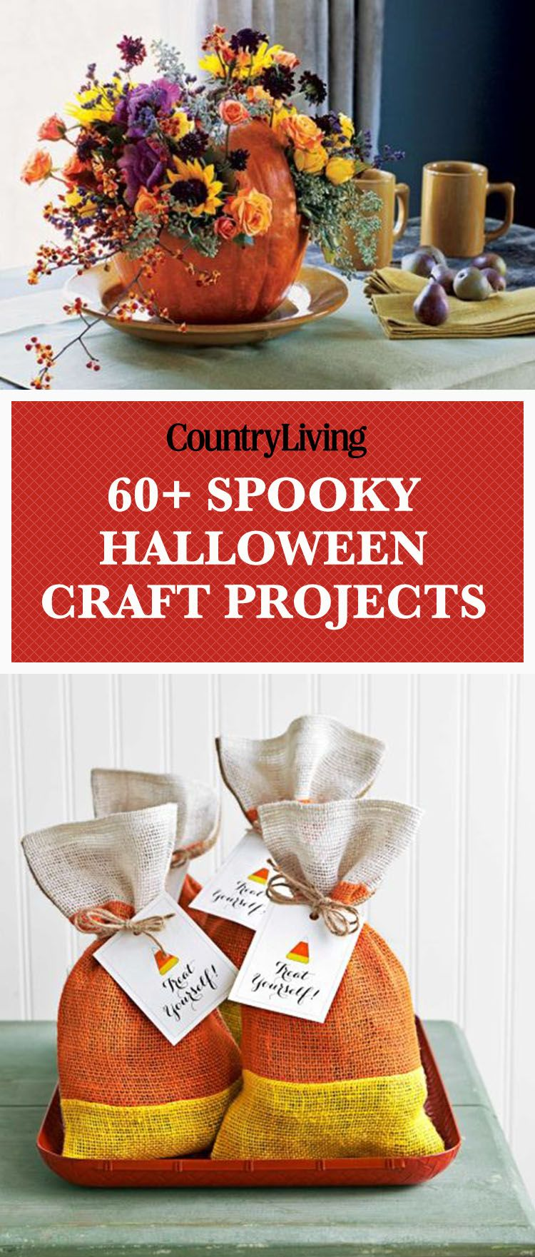 52 frighteningly easy halloween crafts | fall | pinterest
