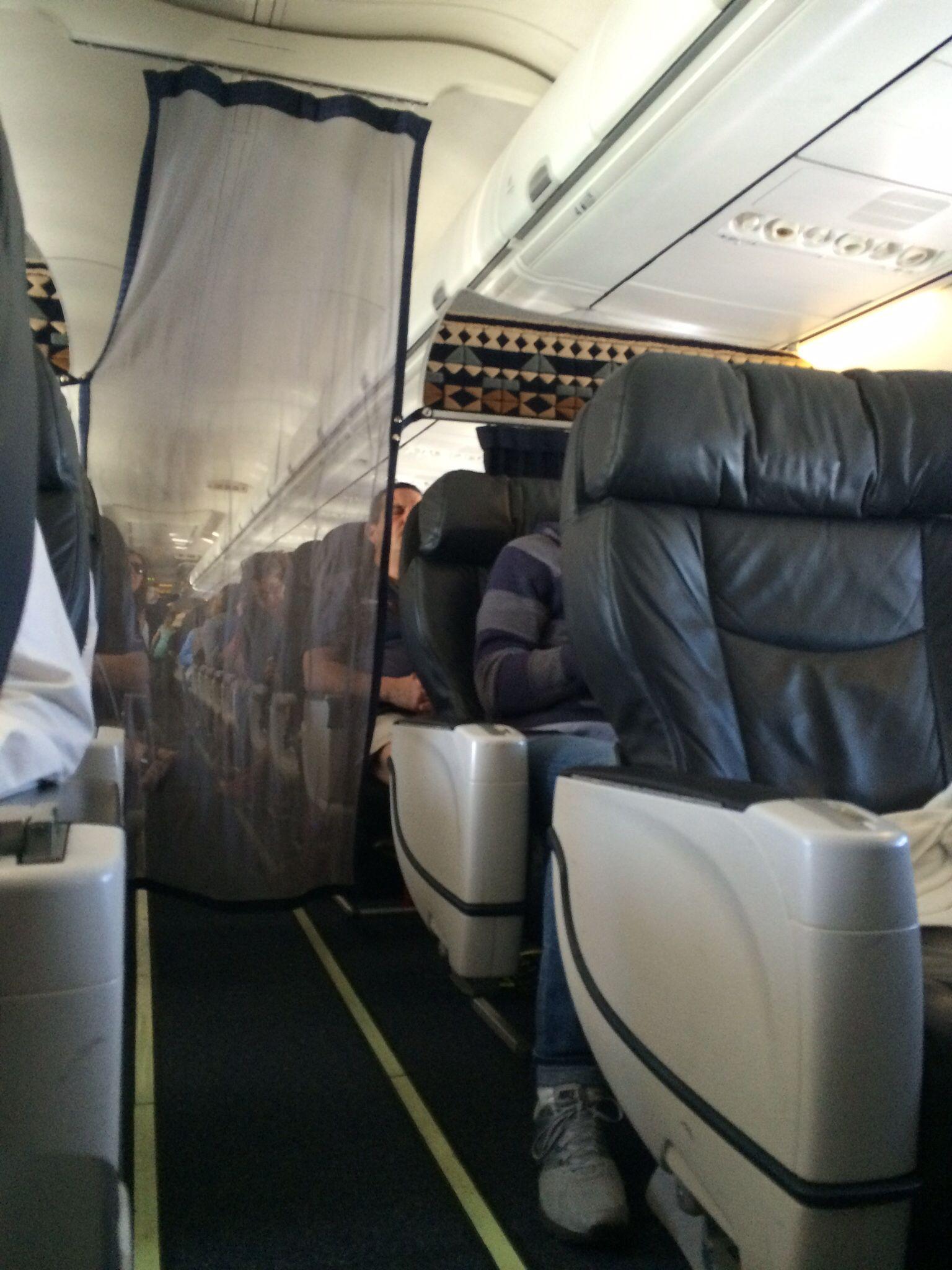 Alaska airlines first class 737800 seabur another
