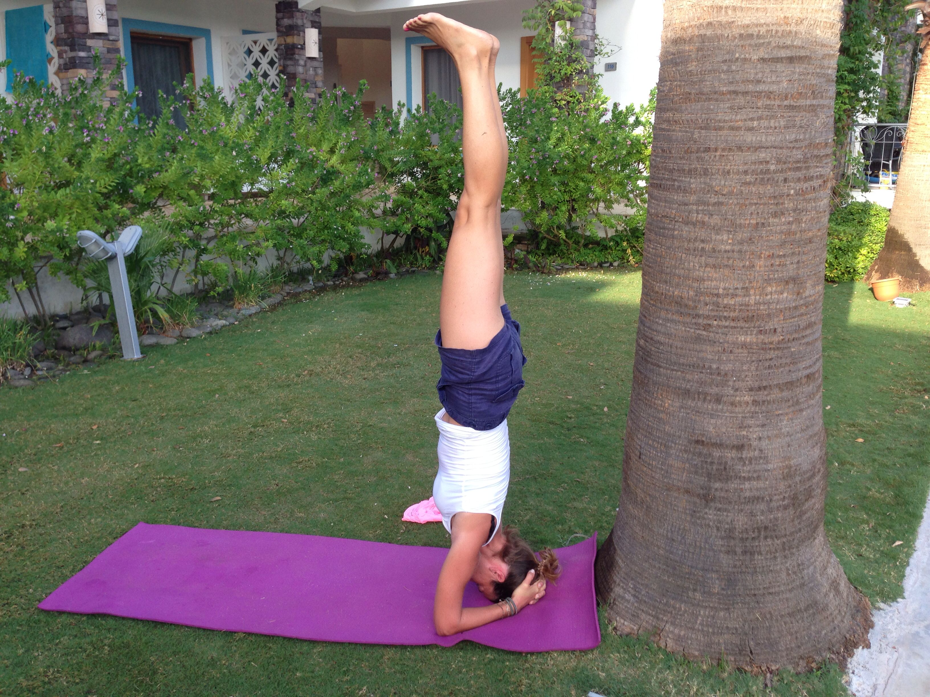 Yoga On Green
