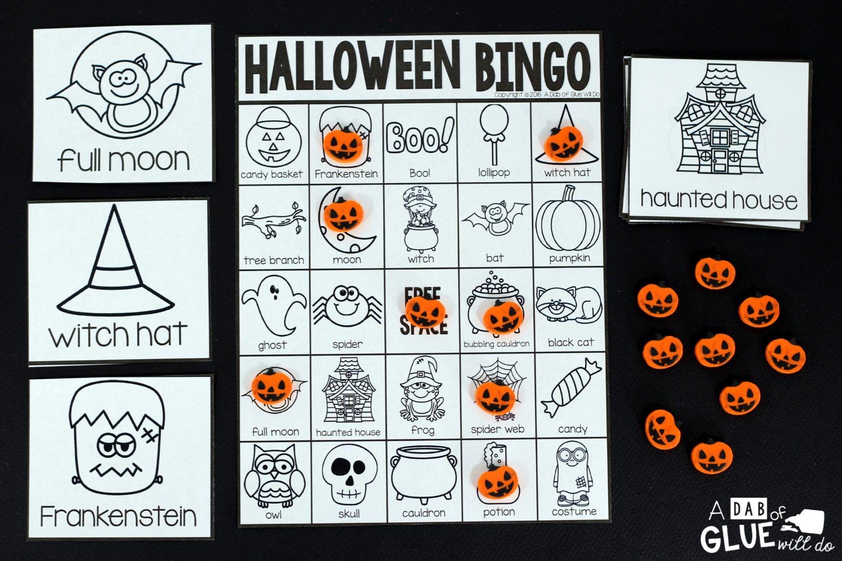 Halloween Bingo Halloween bingo